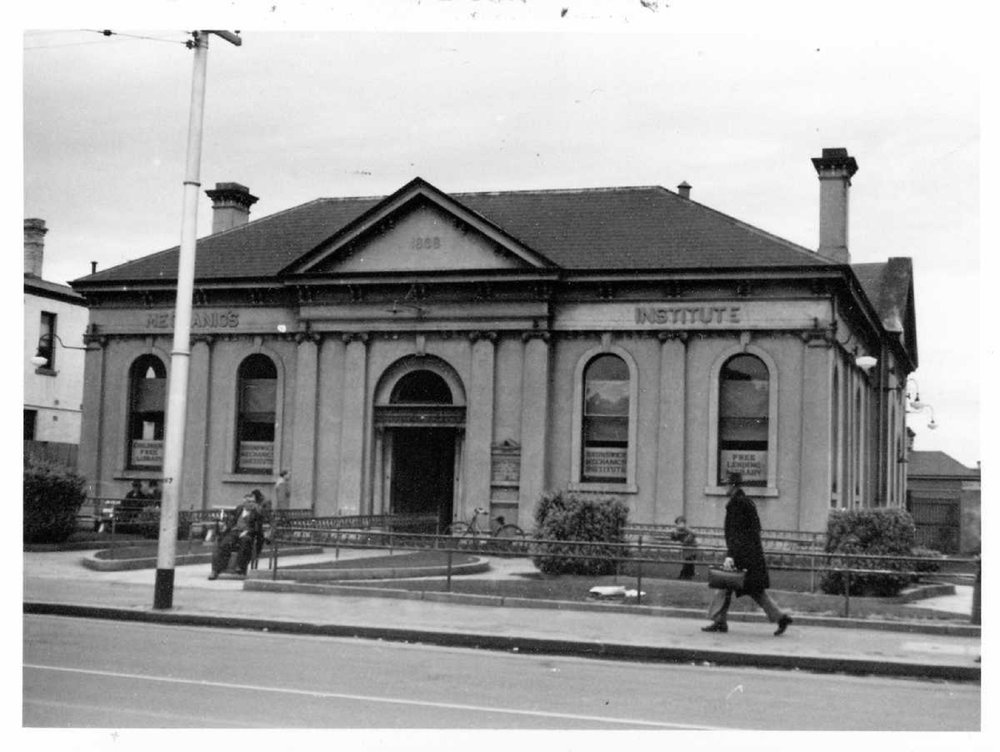Mechanics Institute - (ca. 1949) Colin Caldwell Trust collection, State Library of Victoria