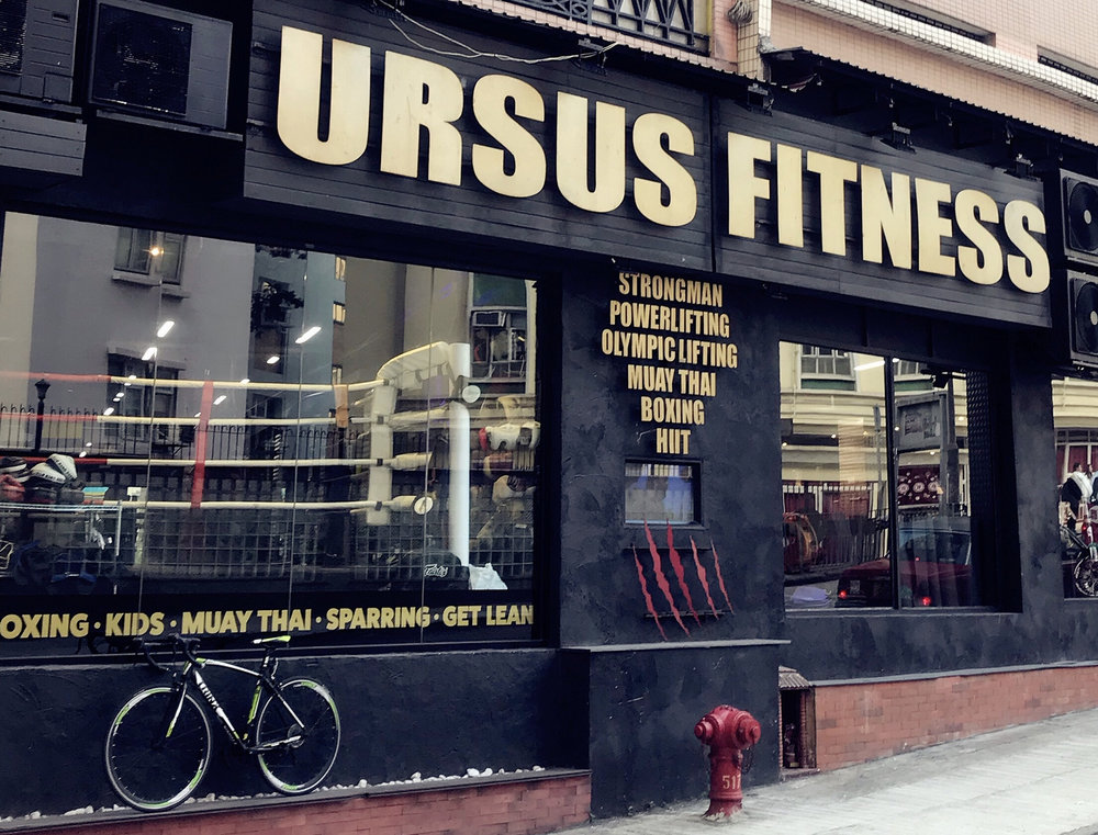 Ursus Fitness, a local gym offers StrongMan training in Hong Kong