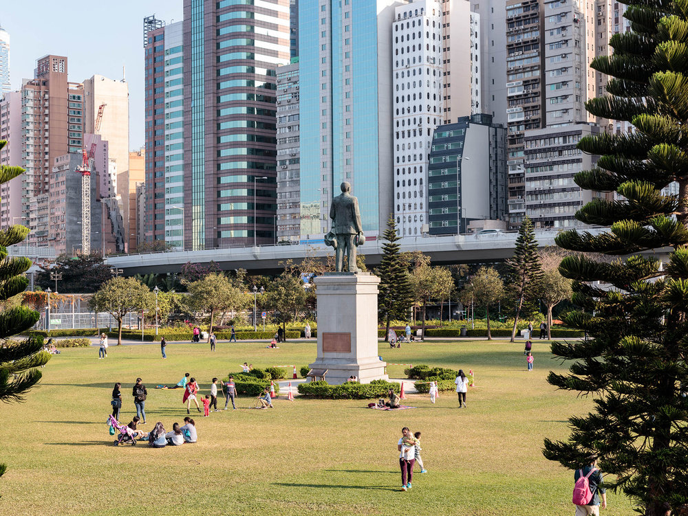 Sun Yat Sen Memorial Park. A park of about 4.22 hectares. With a sizable lawn, a soccer pitch and other outdoor facilities