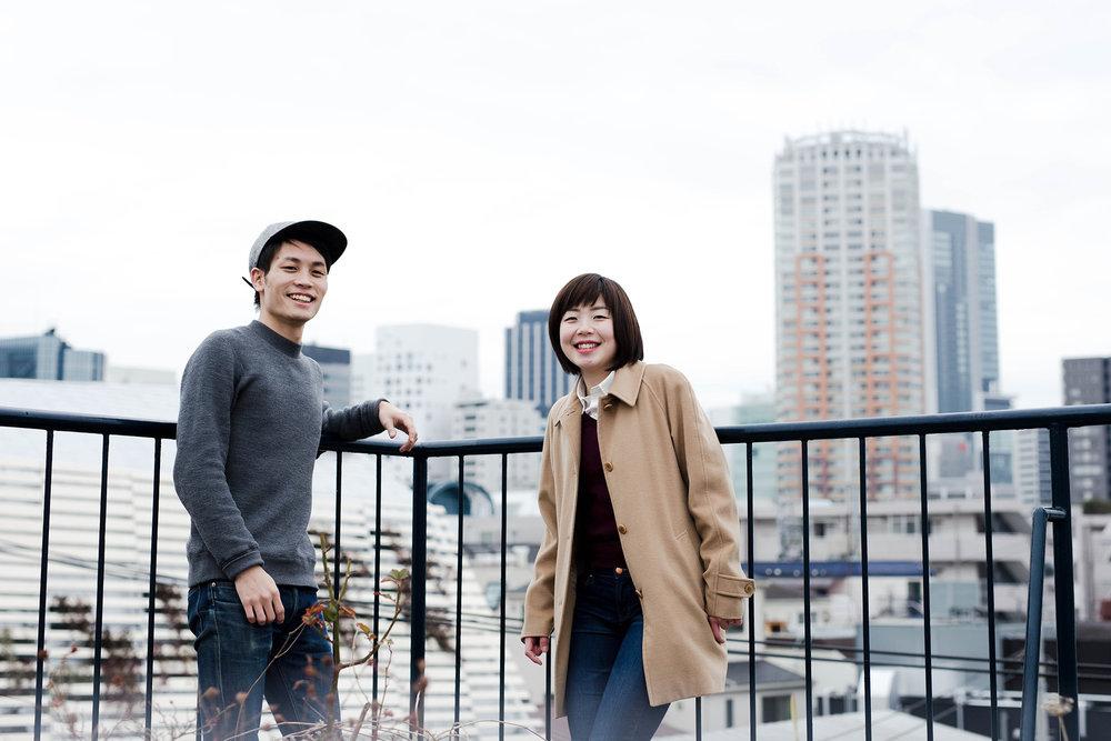Captain Taiga Kato & correspondent Mana Wilson