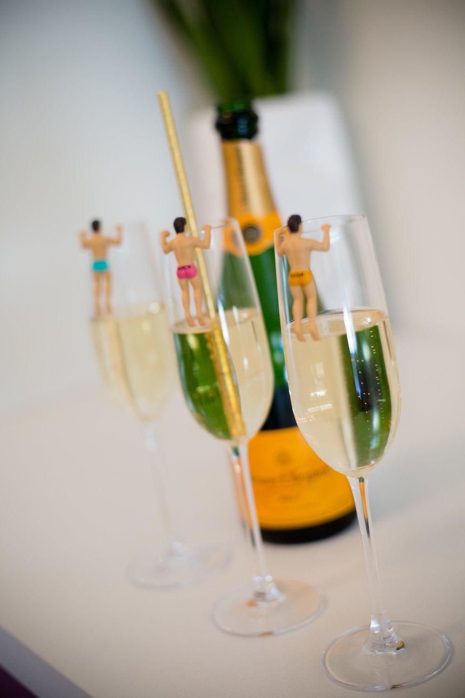 Studio Carre Champagne Flutes