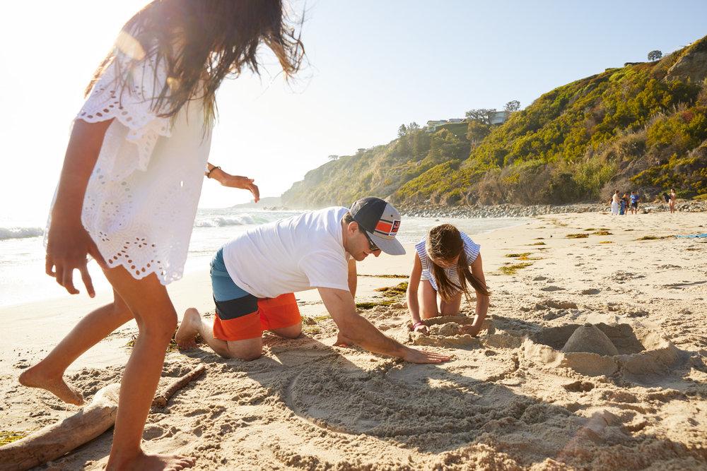 Monarch Beach Resort James Baigrie Sand Castle 1