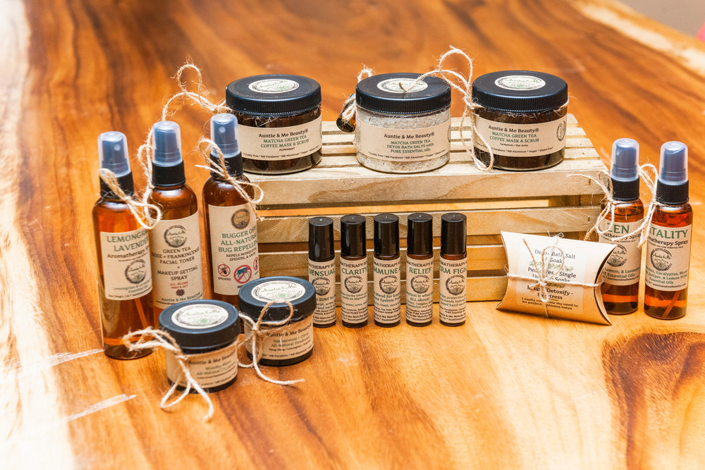 Auntie and Me Natural Beauty Products