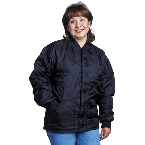Style 1000-I · Quilted Jacket with Knit Collar & Cuffs, Imported ... : how to wear quilted jacket - Adamdwight.com