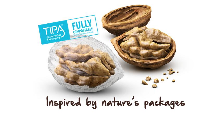 TIPA: compostable, just like Nature