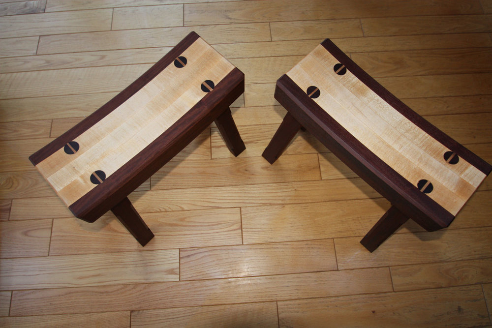 Japanese Stools & Benches