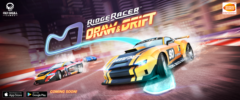 Ridge Racer - Draw & Drift - The legendary Ridge Racer series is back on mobile with this new take on the racing genre. 100% multiplayer game with an innovative gameplay.