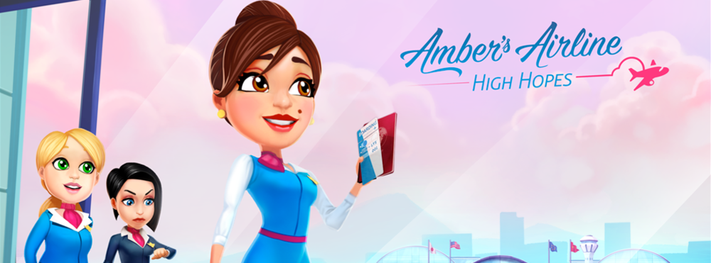 Amber's Airline: High Hopes - Fasten your seat belt and take off with Amber Hope in a new airline game!