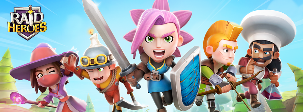 Raid Heroes - Discover our new mobile RPG with a strong cooperation and a big chunk of fun!