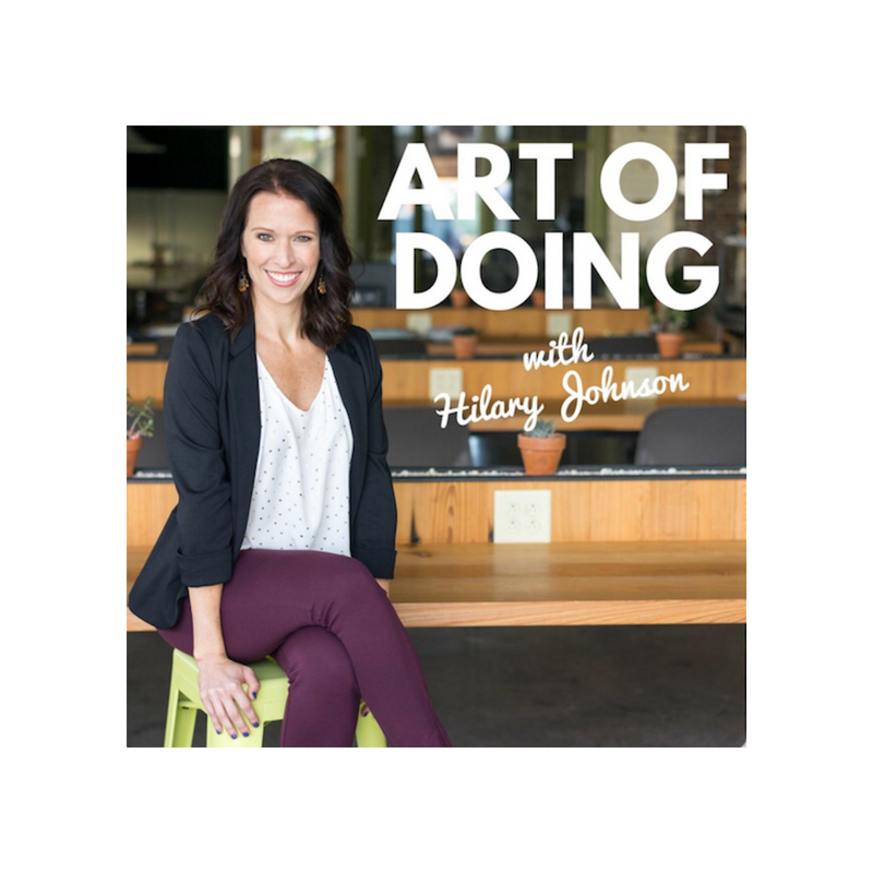 The Art of Doing   Hilary Johnson interviewed Stefani Drake on her podcast that empowers female entrepreneurs. Their conversation touched on the work Drake Strategies is doing around the world and focused on how you can make a difference right where you are by being kind.