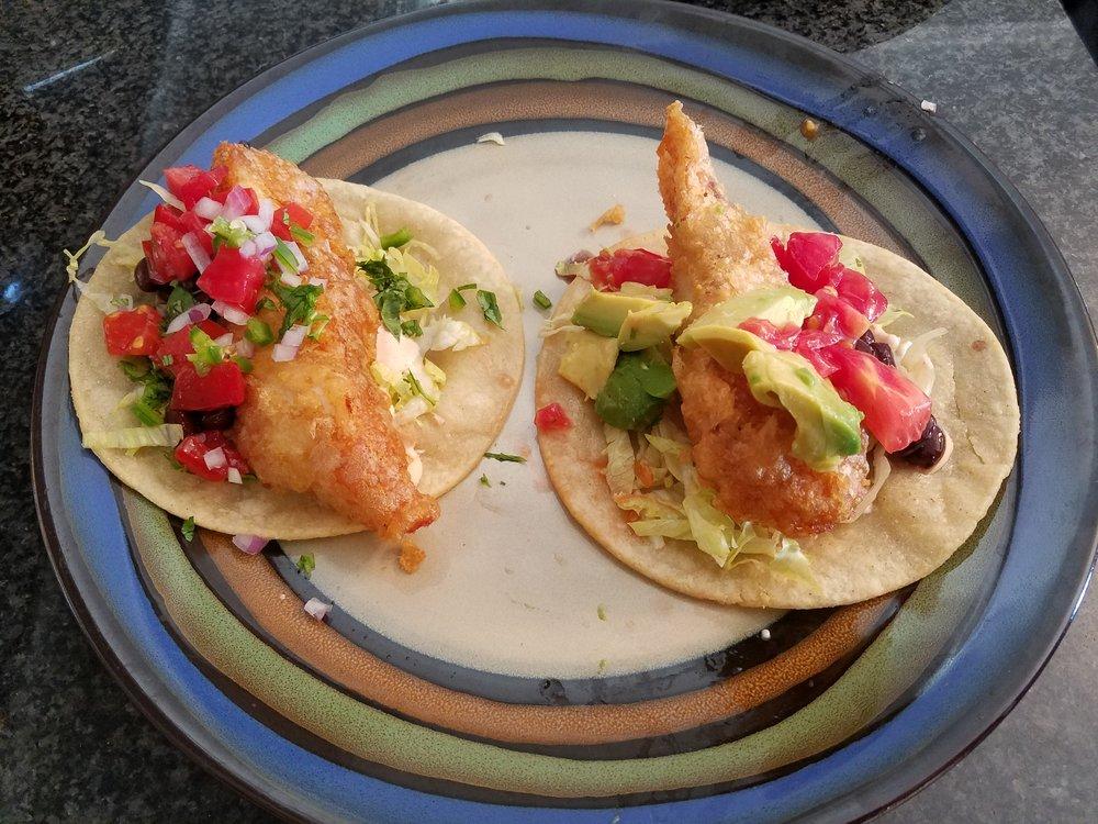 fish taco avocado tomato