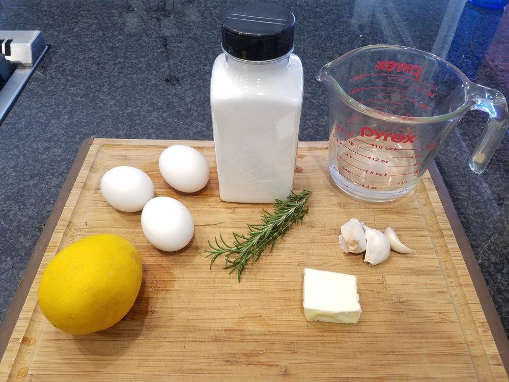 sea bream ingredients