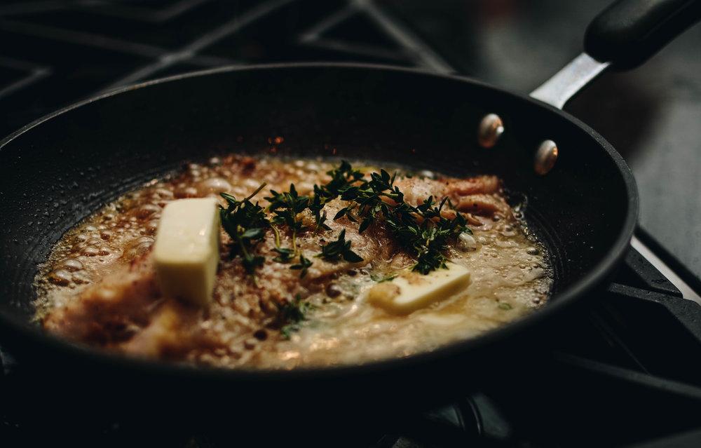 pan butter fish