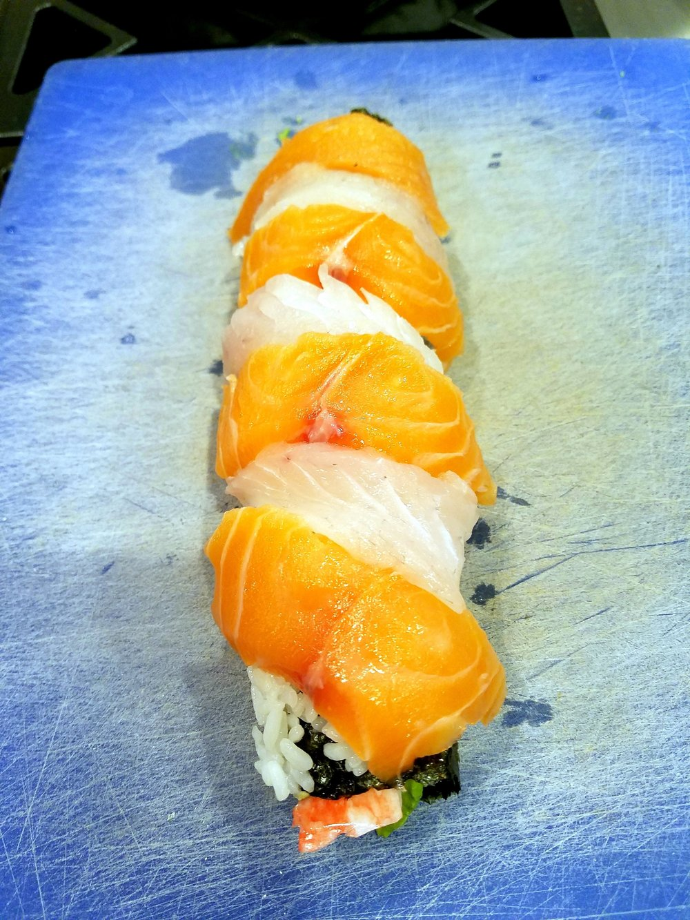 My very first attempt at making a roll.