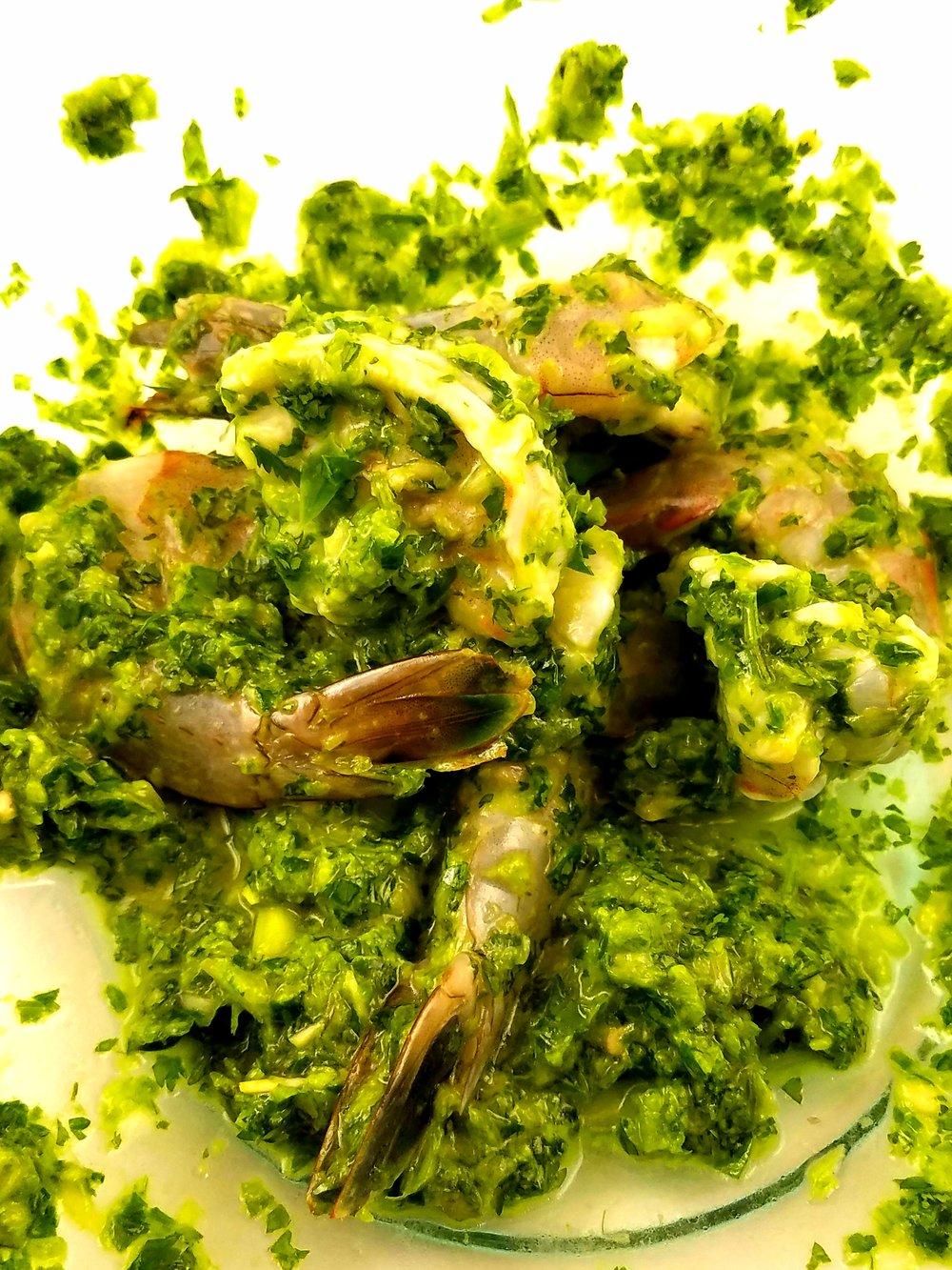 coated shrimp cilantro lime jalapeno