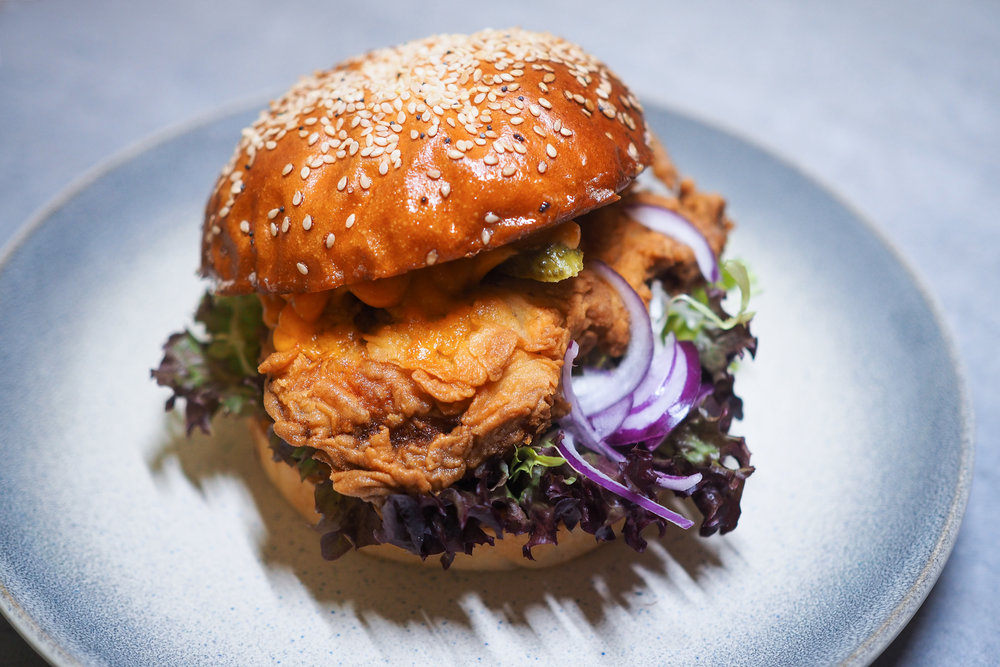 Fried Chicken Burger - 7,90€