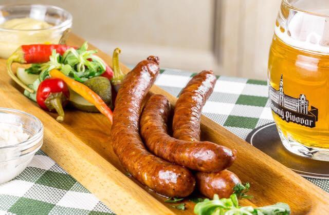 Cigarko Knižka, horčica, chren, chlebík - 4,90€