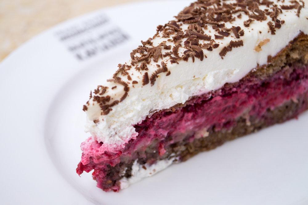 Bezlepková malinová torta - 2,90€