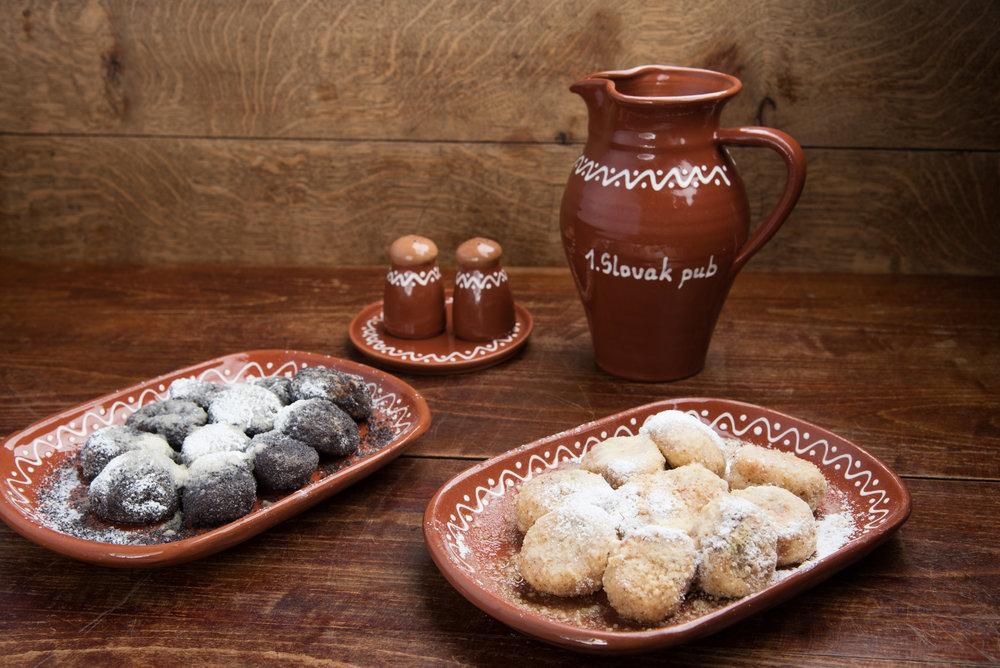 Tradičné slovenské pupáky makové alebo orechové - 6,90€ (10ks)