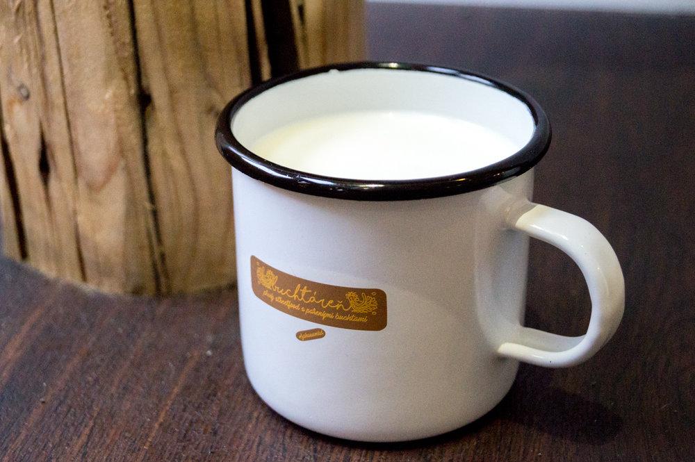 Mlieko plnotučné - 0,60€
