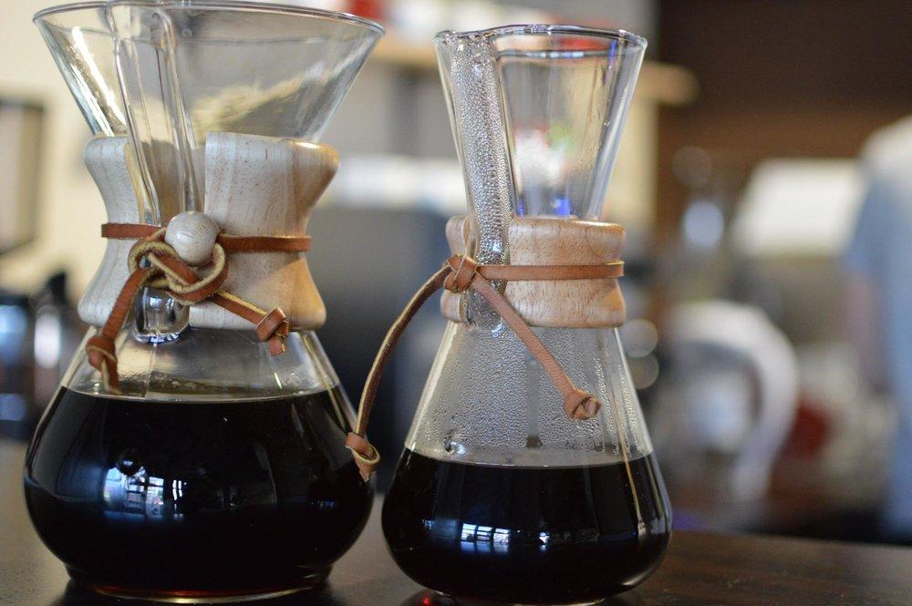 Svetlo pražená káva, alternatívne metódy - 2,40€