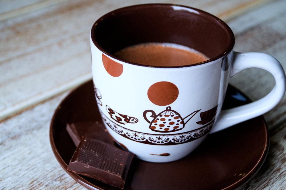 Horúca čokoláda - 2,50€
