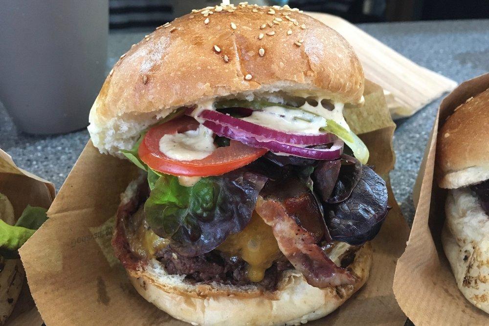 Double burger - 9€