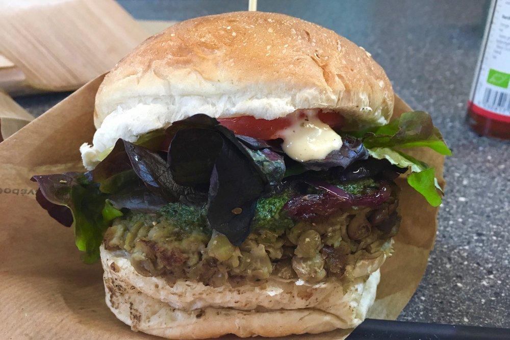 Veggie burger - 6,50€