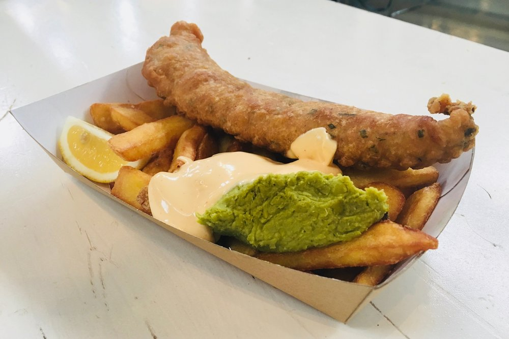 Fish & Chips - 6,00€