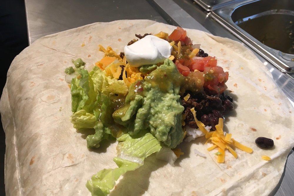 Burrito býk - 6,50€
