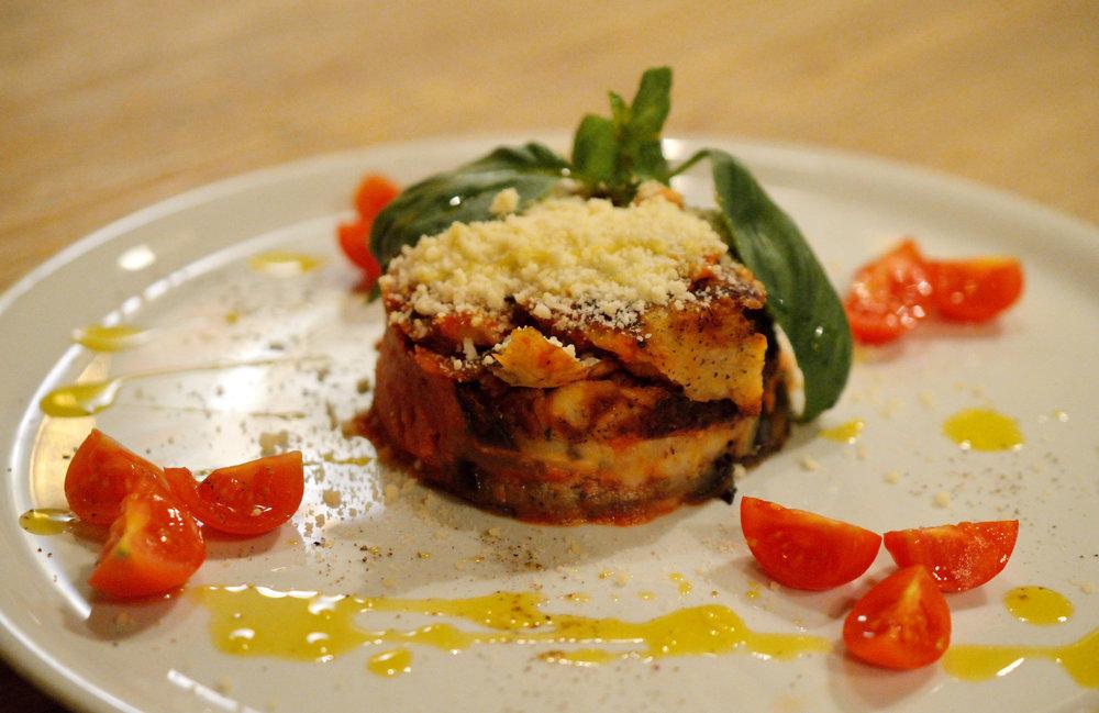 Melanzane alla parmigiana 180g - 7,90€