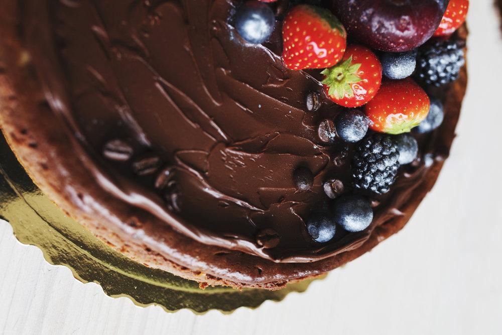 Nugátový cheesecake - 3,50€