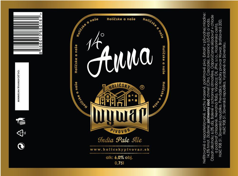 14° Anna - 0,75l - 4,5€/fl.