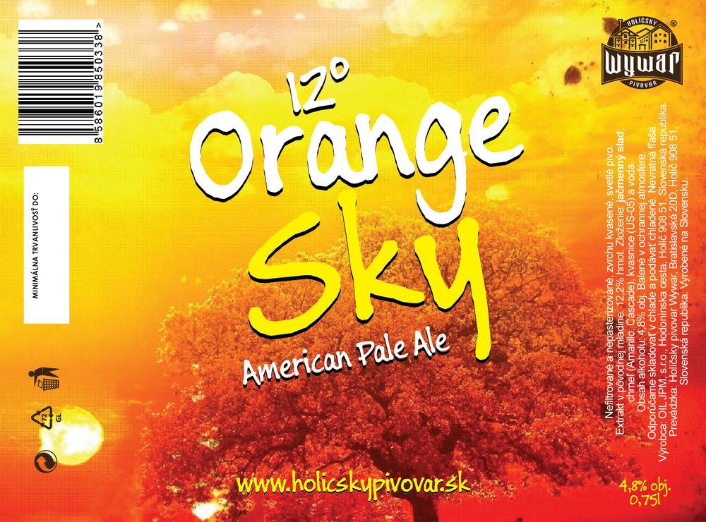 12° Orange Sky - 0,75l - 4,5€/fl.
