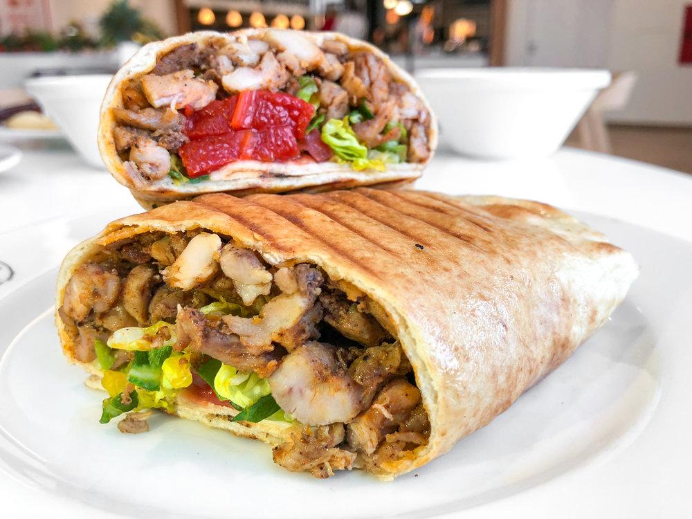 Chicken-Shawarma Laffa - 4,50€