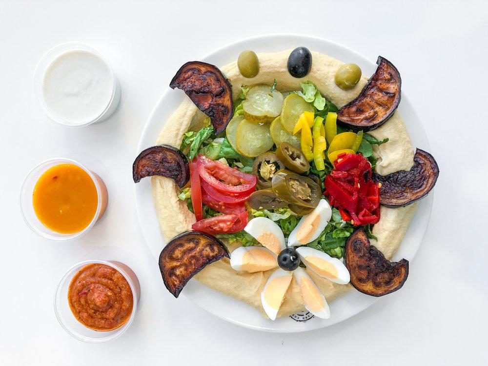 Hummus Eggplant - 4,50€