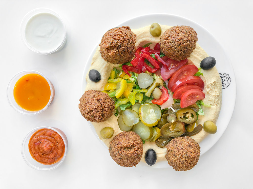 Hummus Falafel - 4,50€