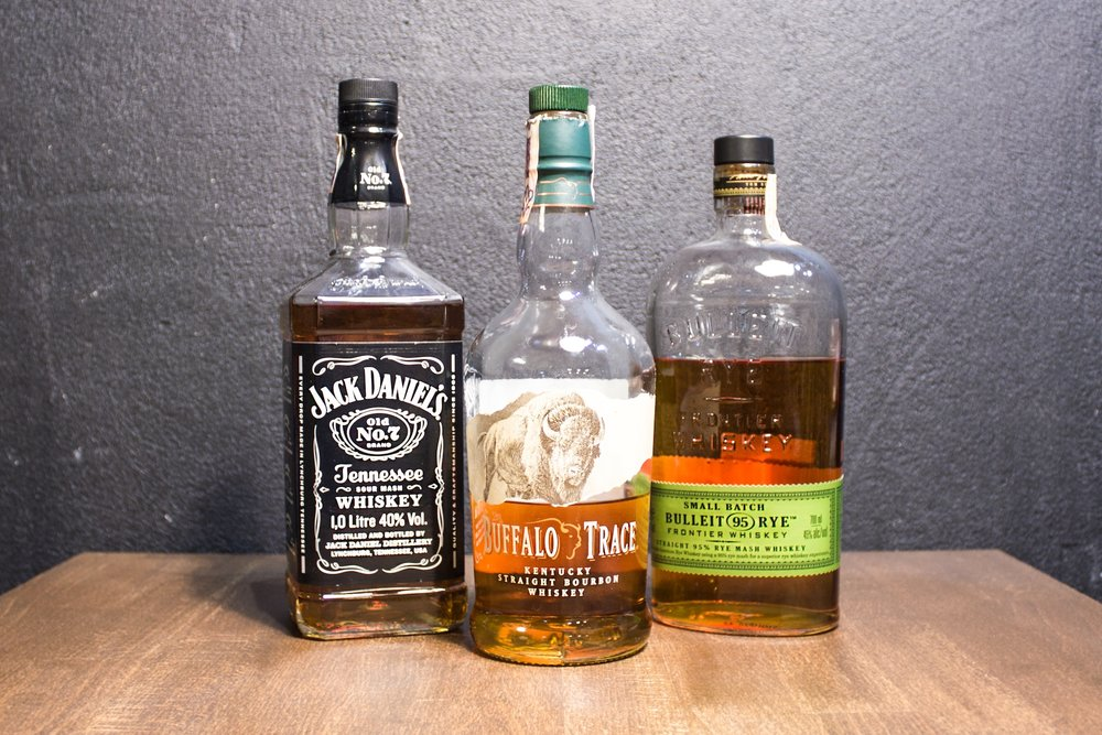 Americké Whiskey a Bourbon