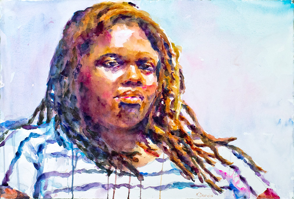 Courtney III, 2013 Georgia Watercolor Society-- First Place, 2014 Watercolor West, 2015 International Signature American Watermedia Exhibition,