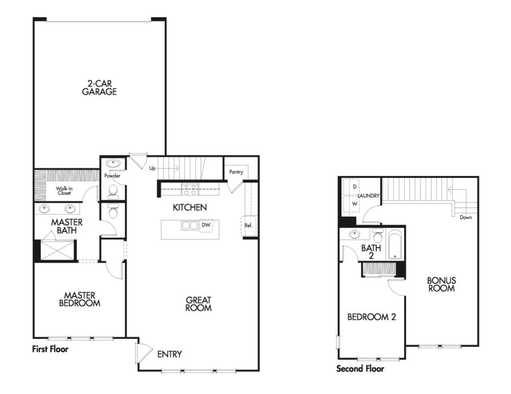 Azure Plan 5 floor plan