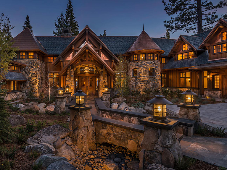 Old World Lakefront Luxury