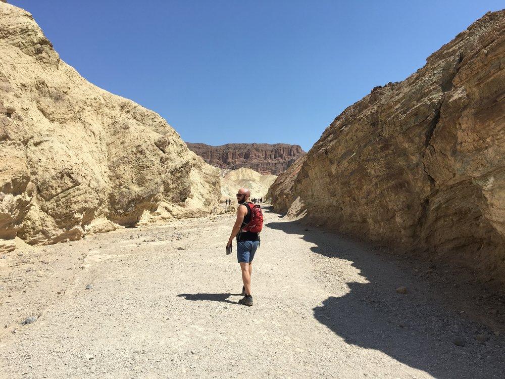 Golden Canyon Hike
