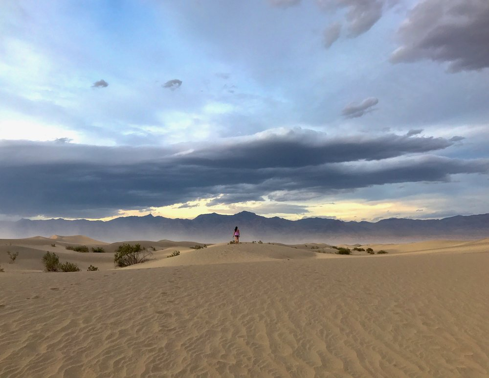 Mesquite Sand Dunes (R2D2 was here!!!!!)