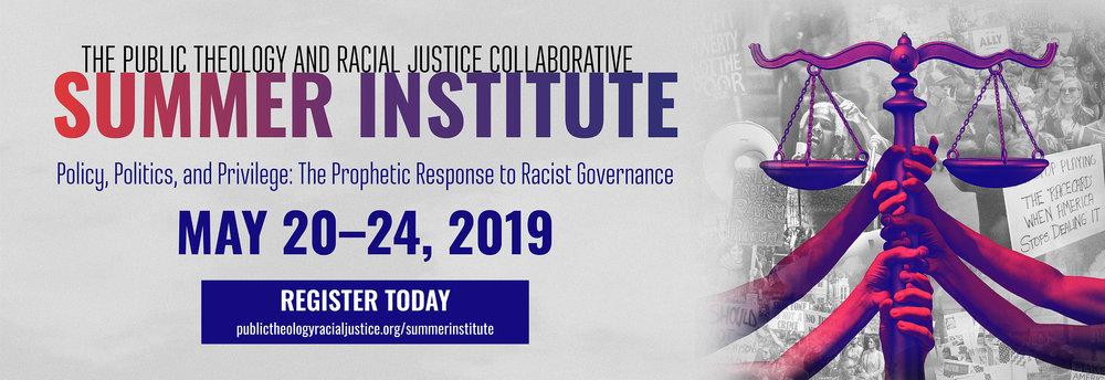 Caption/ID: 2019 Summer Institute banner