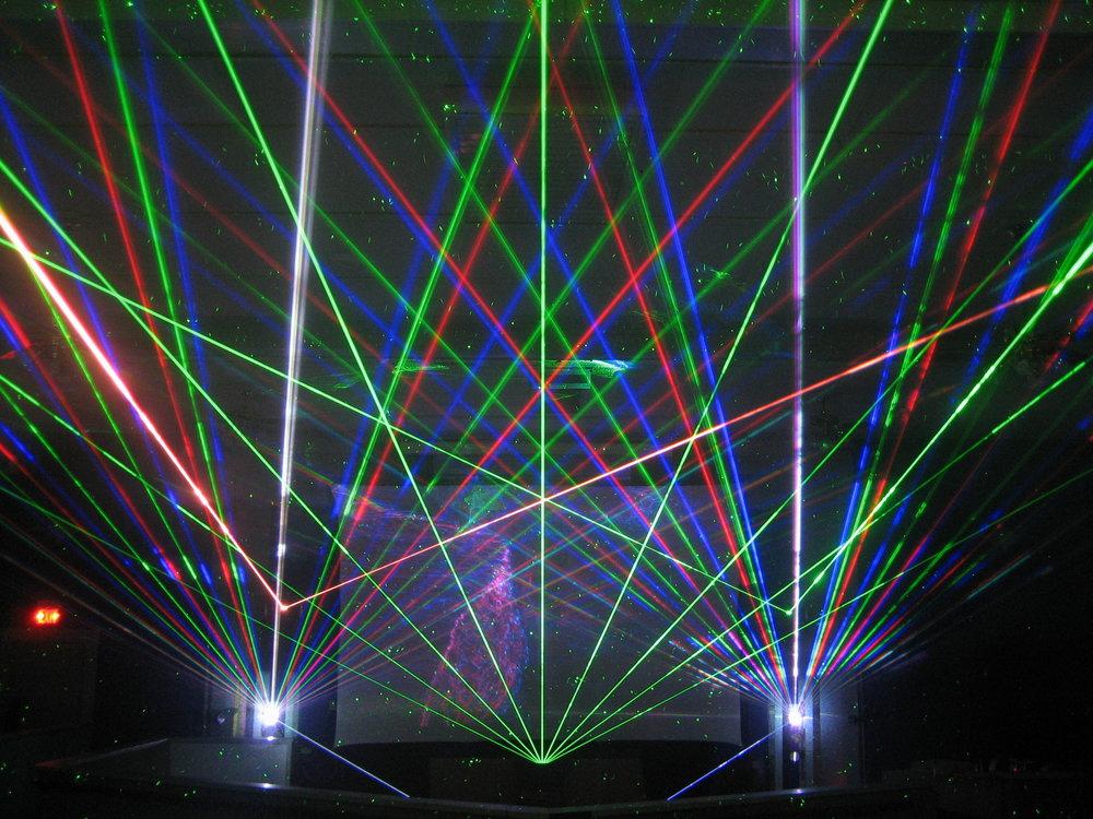 LASER LIGHTING - CLICK FOR MORE INFORMATION