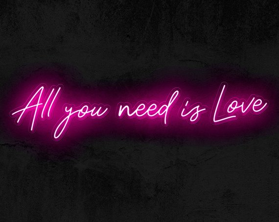 Neon Lighting   Hottest Trend for 2019* Customize a neon sign to place above your sweetheart table, dessert table, entertainment stage, or on a green wall for photo backdrop. Different fonts, sizes, and colors are available.