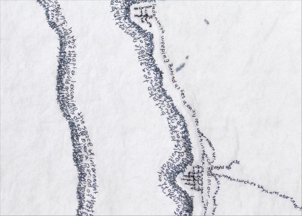 Slocan Lake - Detail 1