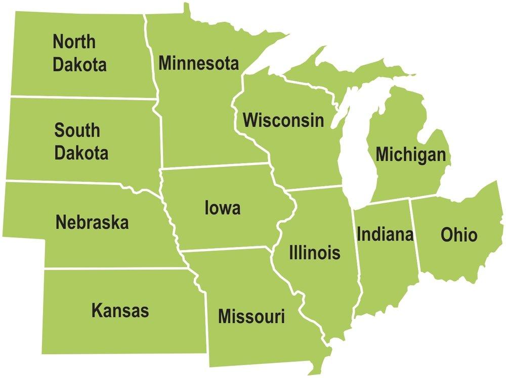 ¿De dónde en el Midwest eres? -
