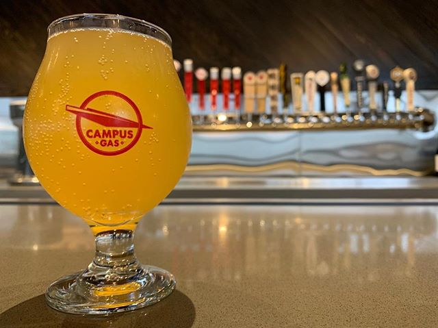 you asked, we answered! passionfruit booch now on tap at @campusgaswfu! go get some while it lasts 🍺🏃‍♀️