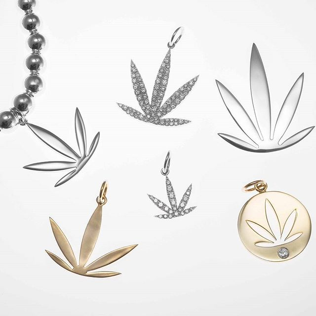 Variety is the spice of life! #silverandgold #silver #gold #womenofweed #cannabis #luxury #jewelry